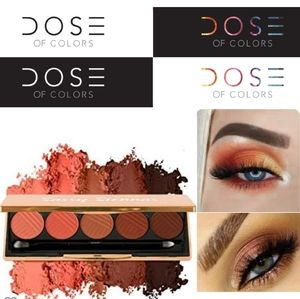 NEW Sassy Siennas Dose of Color Palette Eyeshadow
